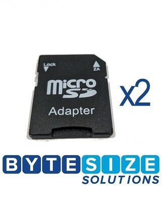 2x Micro SD to SD Card Adapter *BRAND NEW MICRO SD CARD TO SD CARD ADAPTER*