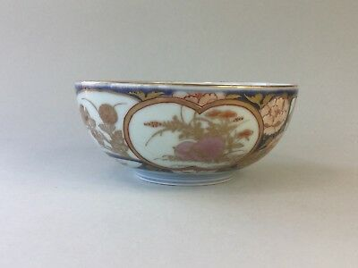 18th Century Imari Bowl Finely Decorated with Rabbits / Hares