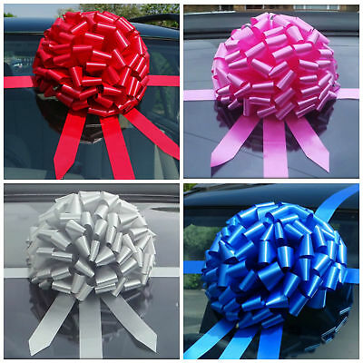 BIG GIANT CAR BOW for cars, Large Birthday & Huge Gifts SUPER FAST DISPATCH