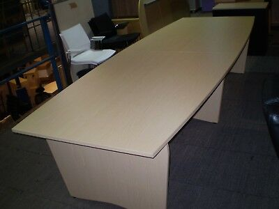 Boardroom Table, Conference Table, Meeting Table.Office Table.Oak Finish. 3200mm
