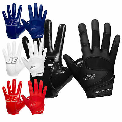 Cutters JE11 Signature Series ungepolsterte American Football Handschuhe