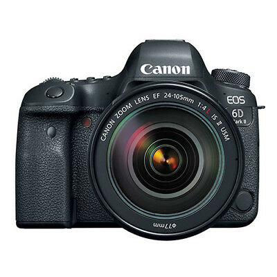 Canon EOS 6D Mark II EF 24-105mm f/4L II IS USM Lens Kit Ship in EU