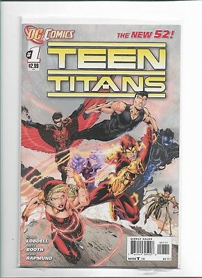 Teen Titans #1 1st Print The New 52! DC Comics Nov 2011