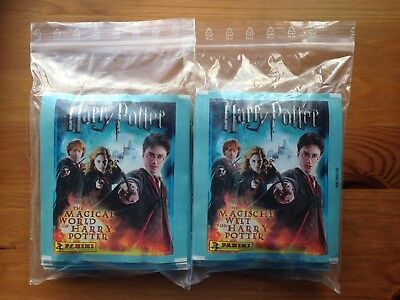 The Magical World of Harry Potter 50 sealed sticker packs Panini