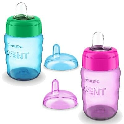 Philips Avent Easy Sippy Cup 260ml 9m+ CHOICE OF COLOUR - BOYS/GIRlS (A21)