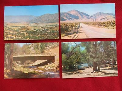Vintage Post Card 4 Post Cards of Kern River Valley, California