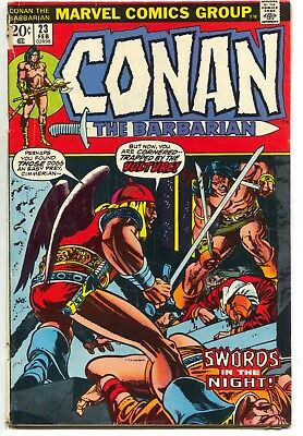 Conan The Barbarian 23 Marvel 1973 VG 1st Red Sonja Barry Windsor Smith