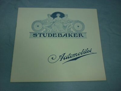 Studebaker Automobiles Electric Vehicle Brochure c1901 Reproduction 18G116