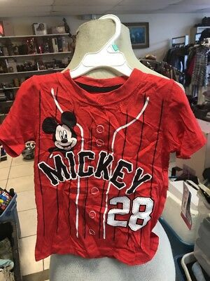 Mickey Mouse Clubhouse Boys Short Sleeve Tee (Baby/Toddler) Size 3T