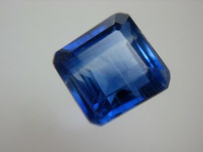 KYANIT  -  OCTAGON CUT  -  5 mm  -  0,95 ct.