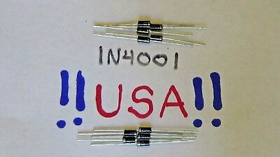 1N4001 diode 10pcs - 50v - 1A - General Purpose Diode / Rectifier - SHIPS TODAY!