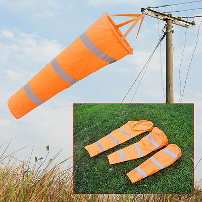 "Reflective Belt + 30""40"" 60"" Airport Windsock Rip-stop Outdoor Wind Measurement"