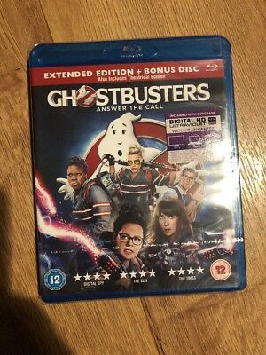 Ghostbusters - EXTENDED EDITION 2 Disc BLU RAY **New & Sealed**