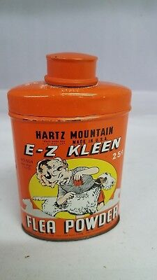 Vintage Advertising Veterinarian E-Z Kleen Flea Powder Fleapowder Z-19