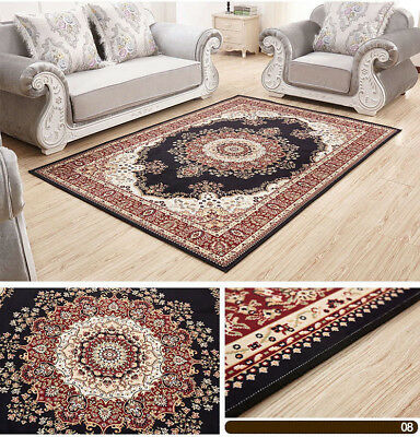 European Style Rug Floor Mat Bedroom Carpets Living Room Area Decor Anti-Skid