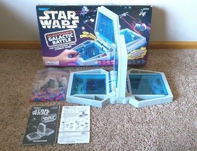 Star Wars Electronic Galactic Battle - Tiger Game 100% COMPLETE IN BOX WORKS!