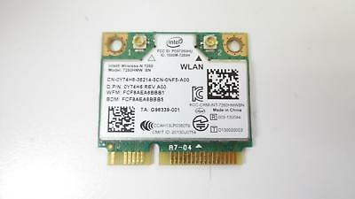 Dell Y74H6 0Y74H6 Intel Wireless-N 7260HMW BN abgn Wi-Fi Bluetooth 4.0 A