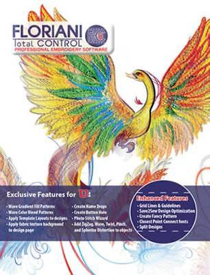 Floriani Total Control 7 Full version - Embroidery Software - INSTANT DELIVERY