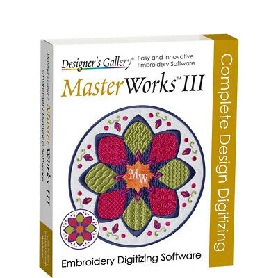 MasterWorks III Full version - Embroidery Software - Instant Delivery
