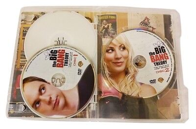 Big Bang Theory - The Complete First Season DVD 2008 3-Disc Set Comedy