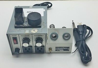 Pace Soldering Station 7008-0114 with iron  #8873