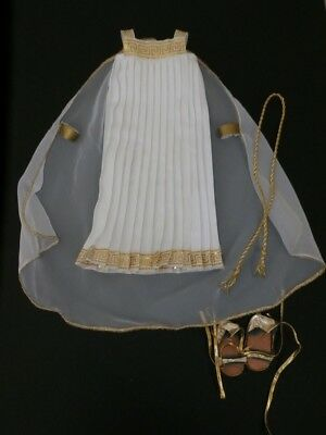 Magic Attic Doll Megan's Greek Goddess Dress Cape Shoes Grecian Gown Retired