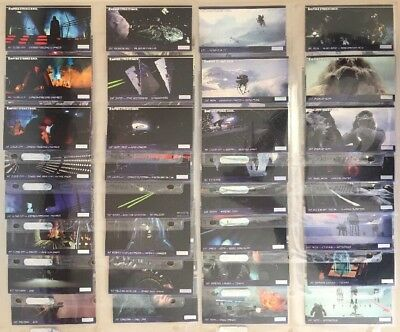 STAR WARS The Empire Strikes Back 3D Topps Widevision Card SET Of 72.