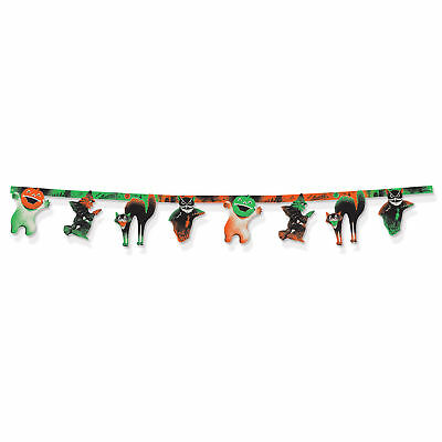 Vintage Beistle HALLOWEEN STREAMER Party Banner Decoration 1960 Reproduction