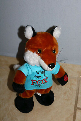 Sonstige Bean-Bags Rare Cuddle Barn The Fox Animated Plush Toy  What Does The Fox Say Dances Sing