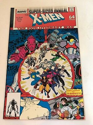 UNCANNY X-MEN Annual 12 VF/NM- Marvel Comics 1988 Evolutionary War Xover