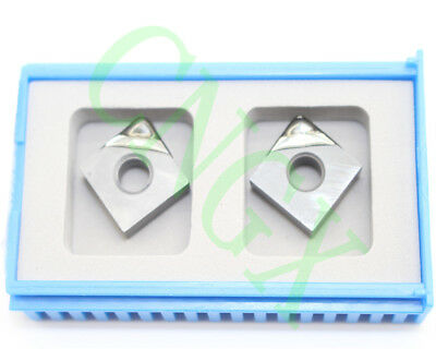 High-precision 2p VCGW110304 PCD Diamond CNC Carbide Turning Insert