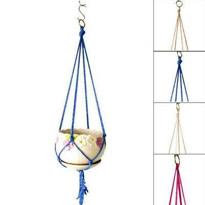 Plant Hanger Macrame Garden Original weight lifting belt baskets various color
