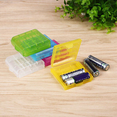 Hard Case Holder Storage Organizer Box For Rechargeable AA AAA Battery