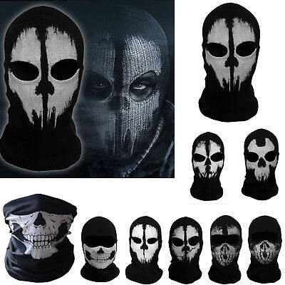 Balaclava Ghost Skull Face Mask Tactical Game Mask Call of Duty Mask