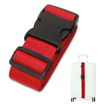 Tight Luggage Straps Suitcase Belts Travel Bag Accessories 1/2/4 Security Straps