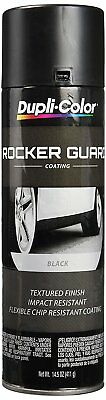 Duplicolor Black Rocker Guard Coating - 14.5 oz DUPRGA101