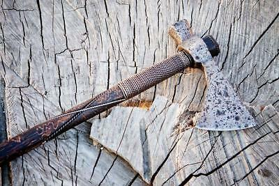 16-17th C. Middle Eastern original hatchet, Viking battle axe, Collectible ancie