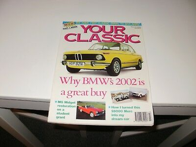 Your Classic    Car   Magazine   March 1991    English Monthly