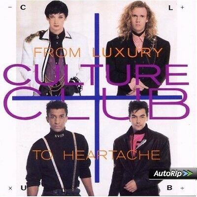 Culture Club From Luxury To Heartache CD