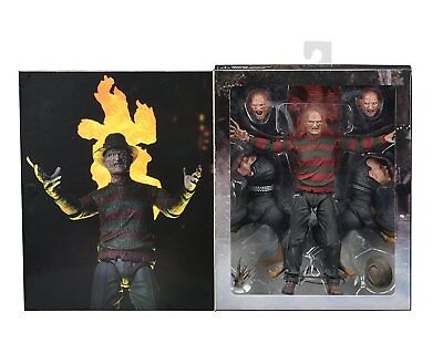 NECA A NIGHTMARE ON ELMSTREET 2 Ultimate Freddy Krueger Part 2 Aktionfigur  NEU