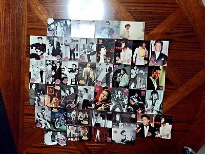 The King Elvis Presley Collector Cards x39 The Elvis Collection
