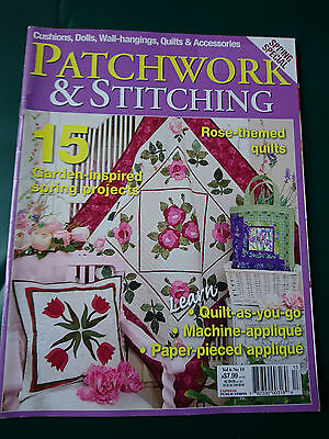 Patchwork & Stitching - Vol.6 No.10 - Craft Magazine + Patterns