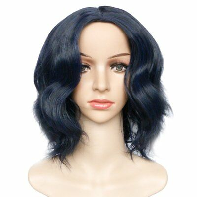 Black People Short Centre-parted Curly Chemical Fiber Wig Optional Colors 2018