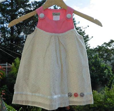 VINTAGE Love Henry Georgia Floral Pretty Tea Party Dress 2 years
