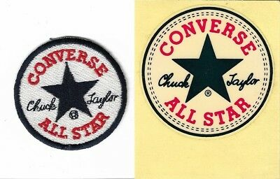 CONVERSE Chuck Taylor All Star Sticker & Cloth Patch From The USA - Mint!!