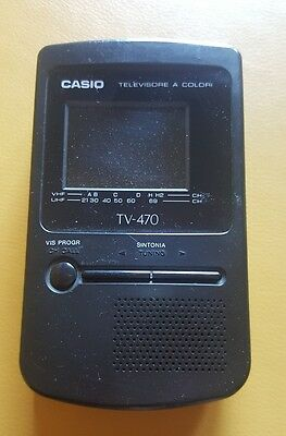 TV Portatile Casio TV-470 Vintage
