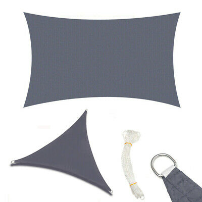 Extra Large UV Protector Sun Sail Cover Shade Canopy Patio Garden XL UK Stock SU