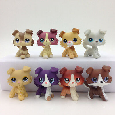 Random 5X LPS Littlest Pet Shop Sets #2210#2452#1542#1262 Collie Dog Puggy Gift