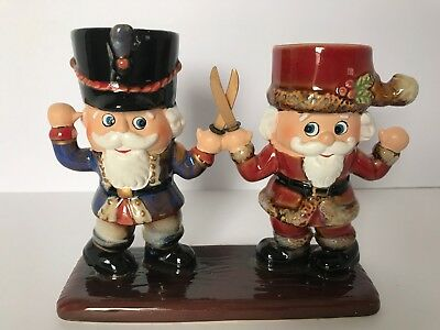 Yankee Candle Christmas Dueling Nutcrackers Tealight Holder