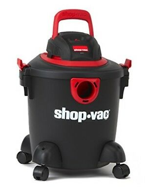 Shop-Vac Wet Dry Vacuum Portable Vacuum Cleaner 5-Gallon Vac Black Red 2035000